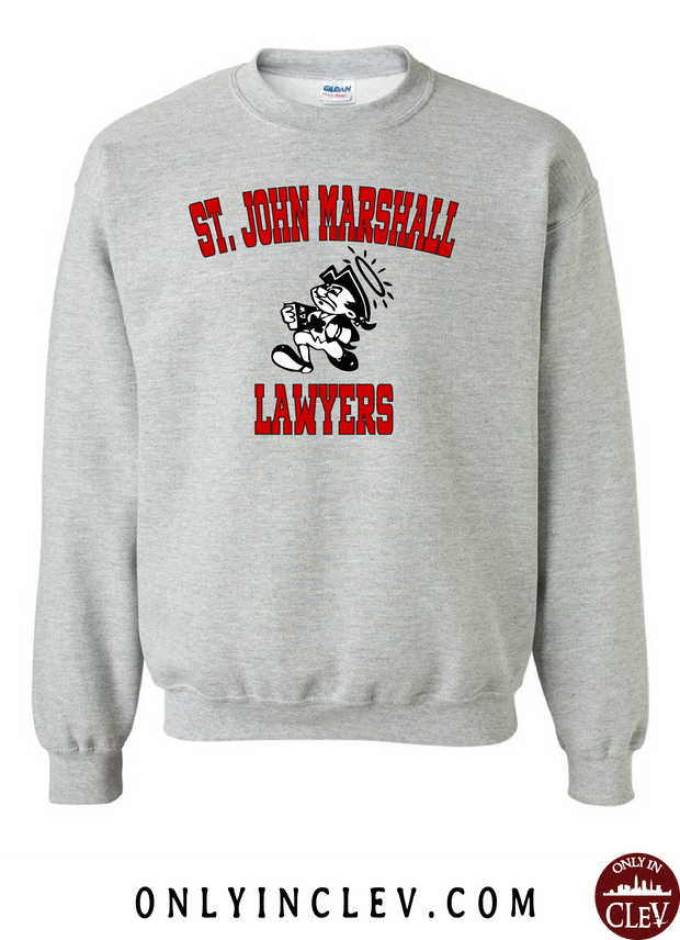 St. John Marshall Crewneck Sweatshirt - Only in Clev