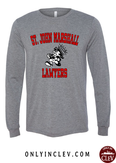 St. John Marshall Long Sleeve T-Shirt - Only in Clev