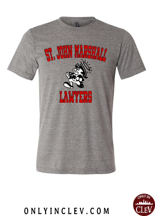 St. John Marshall T-Shirt - Only in Clev