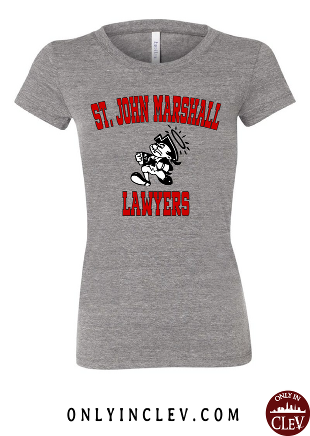 St. John Marshall Womens T-Shirt - Only in Clev