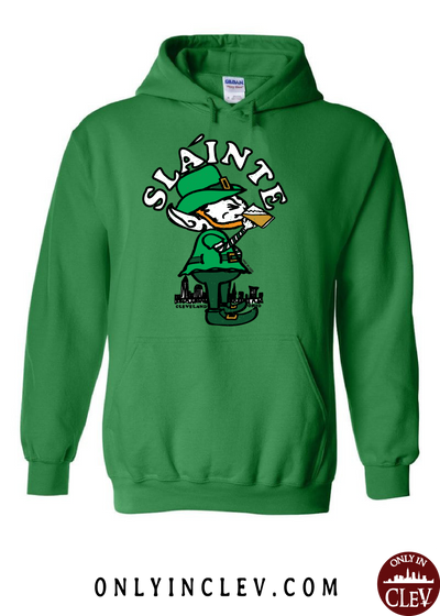 Slainte Cleveland Hoodie - Only in Clev