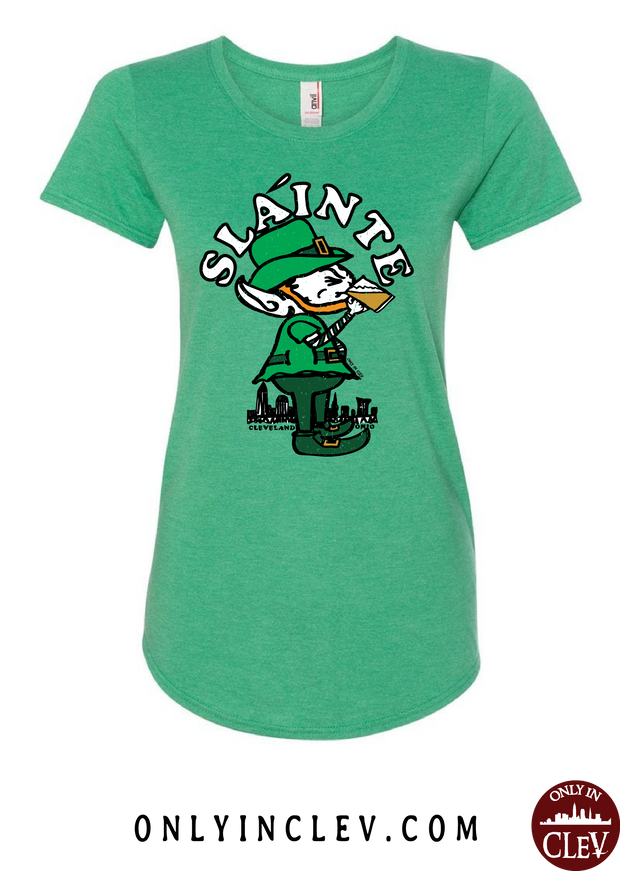 Slainte Cleveland Womens T-Shirt - Only in Clev