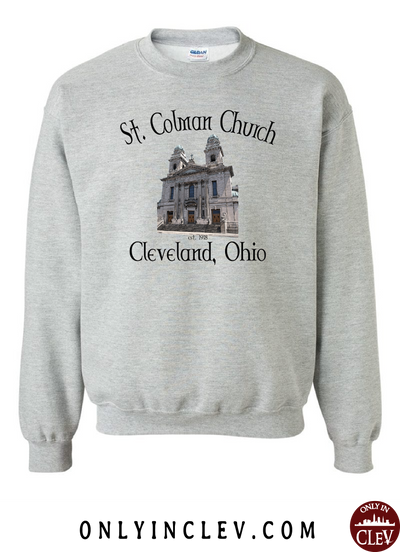 St. Colman Church Crewneck Sweatshirt