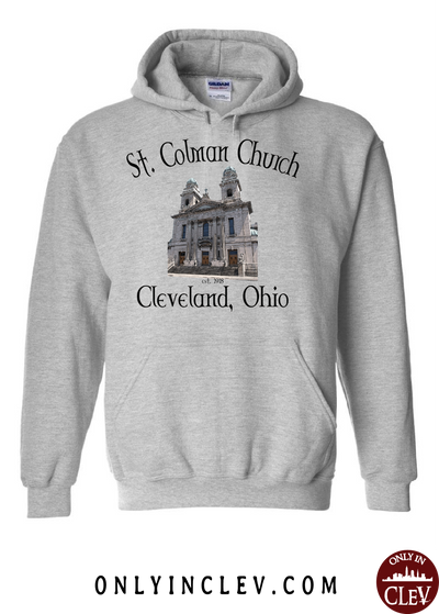 St. Colman Church Hoodie - Only in Clev