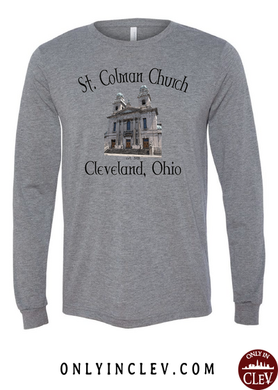 St. Colman Church Long Sleeve T-Shirt - Only in Clev