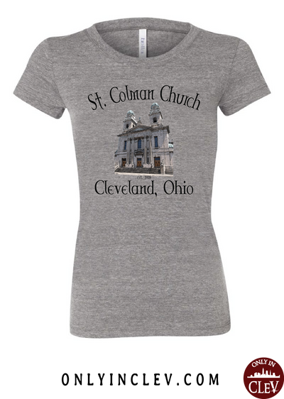 St. Colman Church Womens T-Shirt