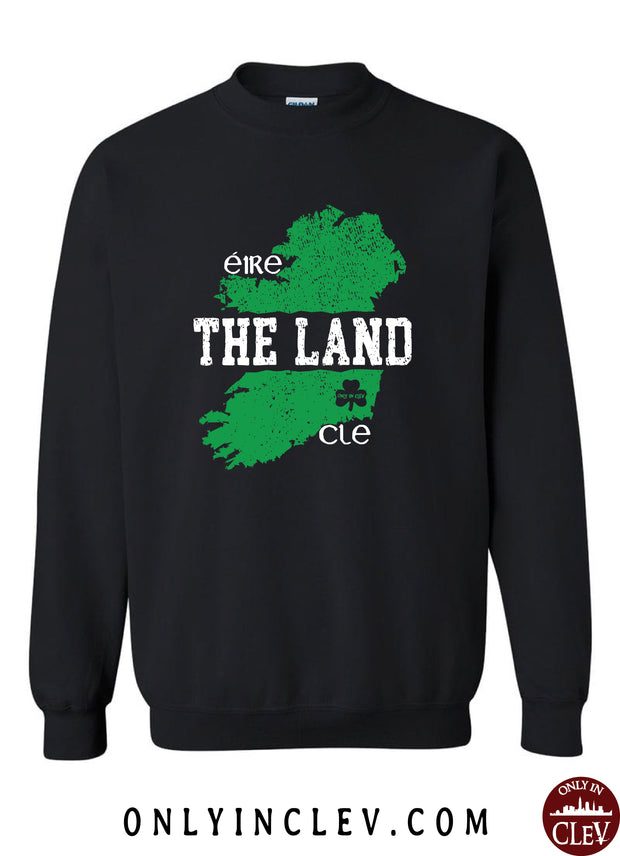 """The Land Eire"" Design on Black - Only in Clev"