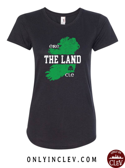 The Land - Ireland & Cleveland Womens T-Shirt