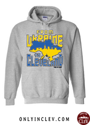 """Cleveland Ukrainian"" Design on Gray - Only in Clev"