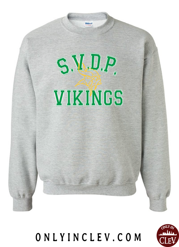 St. Vincent DePaul Vikings Crewneck Sweatshirt - Only in Clev