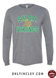 """St. Vincent De Paul"" Design on Gray"