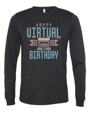 "(Customize Your Name) ""Virtual Birthday Shirt"" on Black - Only in Clev"