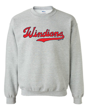 """Windians"" Baseball Design on Gray - Only in Clev"