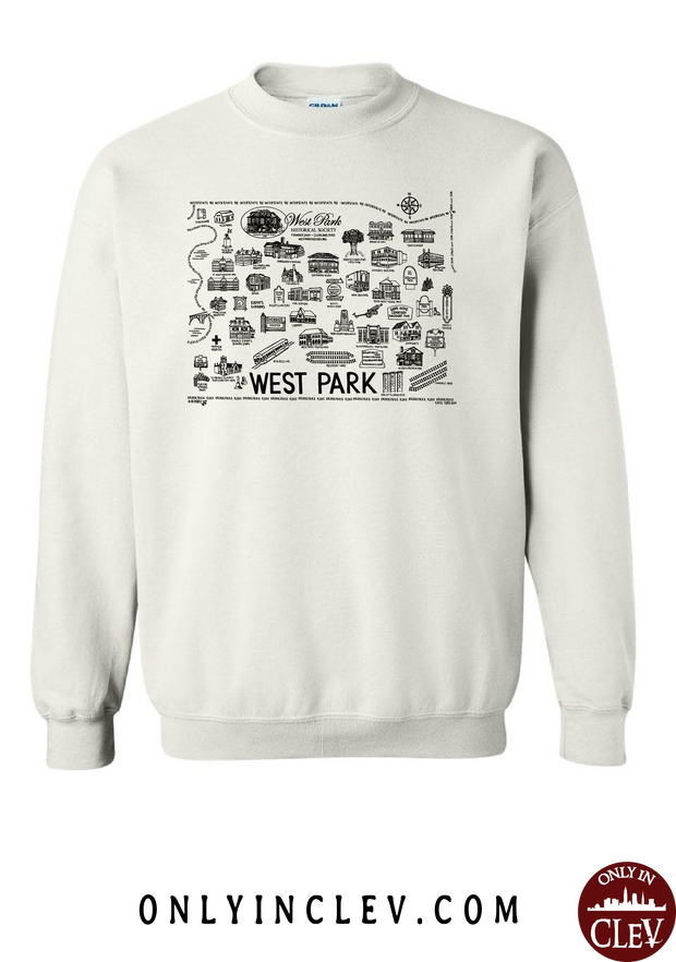 West Park Historical Shirts on White (Black Font) - Only in Clev
