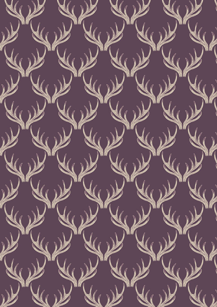 Antlers on Deep Blackberry