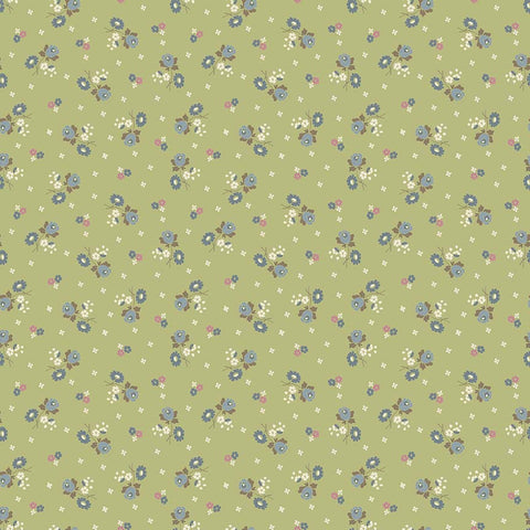 Anne of Green Gables - Blossoms Green (35 x 110cm Fabric Piece)