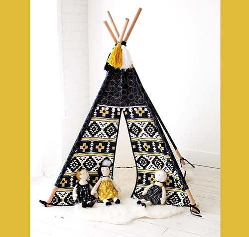 Playhouse Teepee Pattern