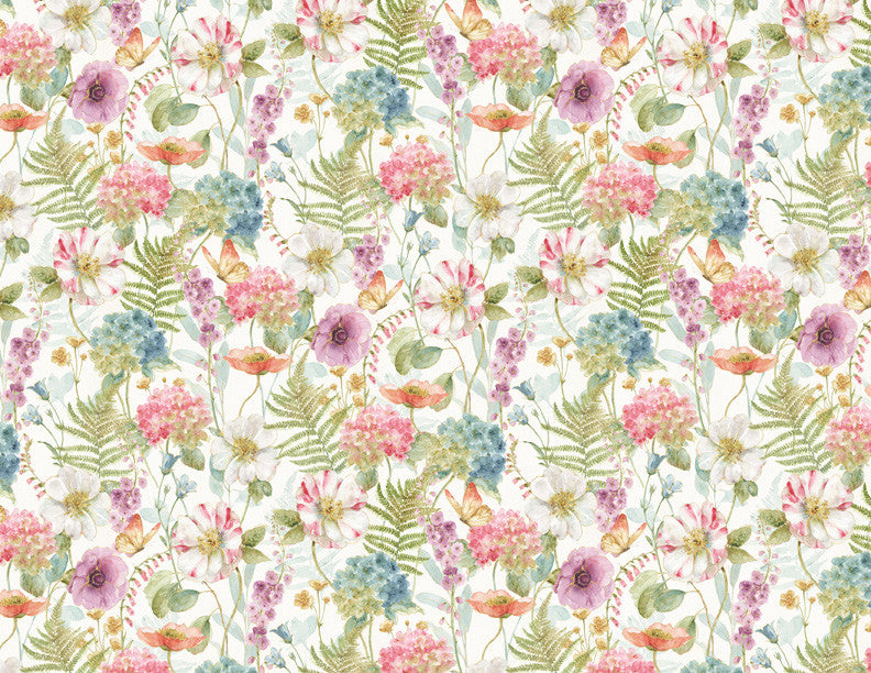 Rainbow Seeds Large Floral Print