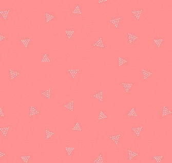 City Life Triangle Dot - Coral