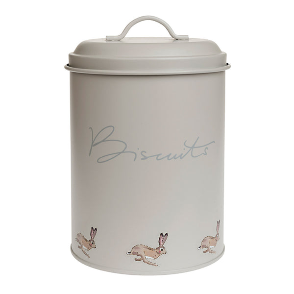 Hare Biscuit Tin