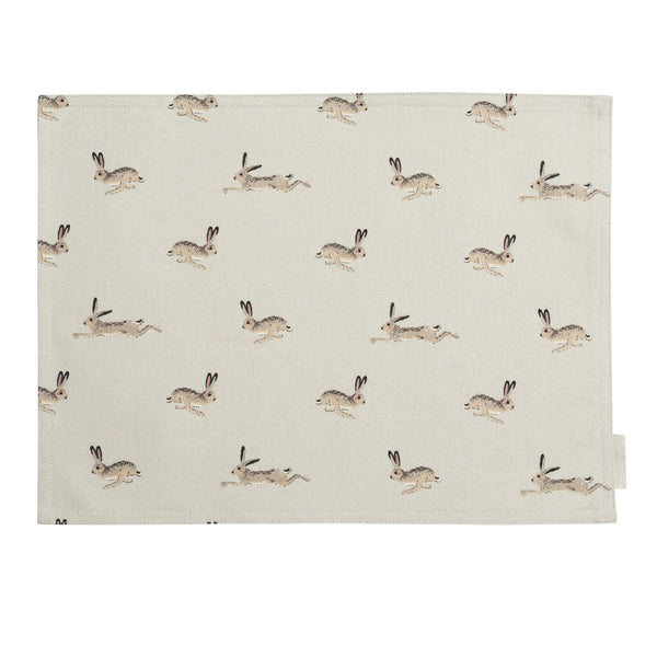 Hare Fabric Placemat
