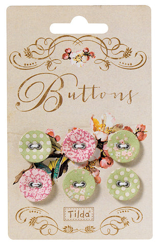 Apple Bloom Buttons 17mm