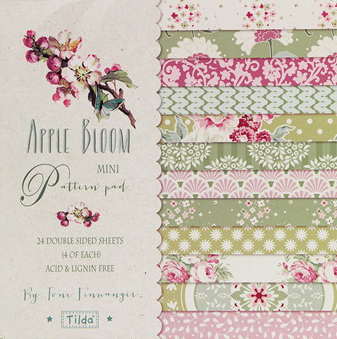 Apple Bloom Mini Pattern Pad