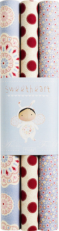 Sweetheart Self-Adhesive Fabric Sheet (3 Pack)