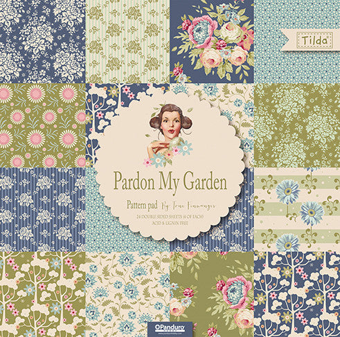 Pardon My Garden (Large) Patterned Paper Pad