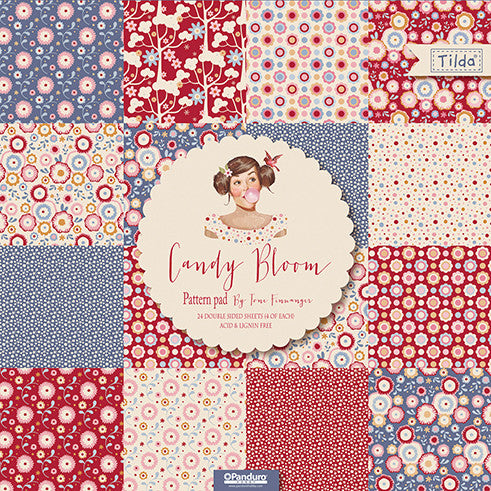 Candy Bloom (Large) Patterned Paper Pad