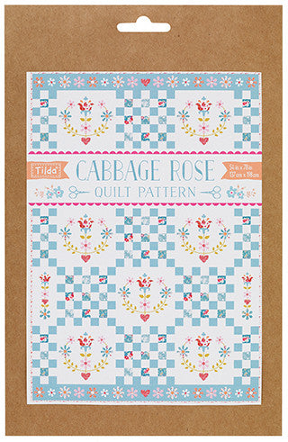 Cabbage Rose Quilt Pattern
