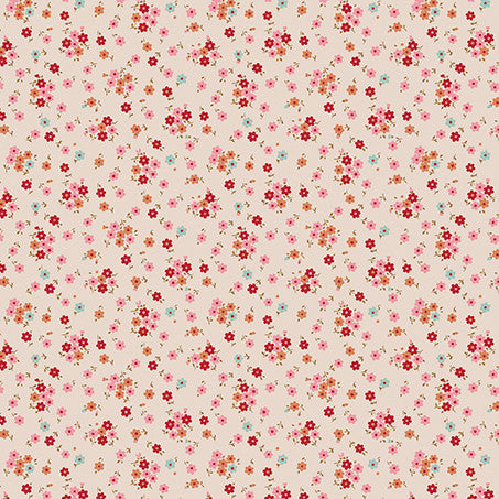 Tilly Red (35 x 110cm Fabric Piece)