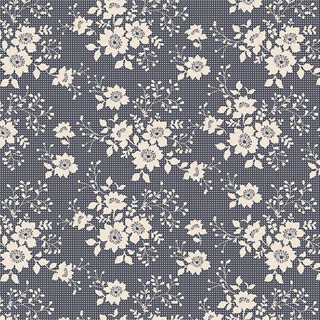 Libby Dark Slate (35 x 110cm Fabric Piece)