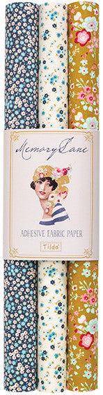 Memory Lane Self-Adhesive Fabric Sheet (3-Pack)