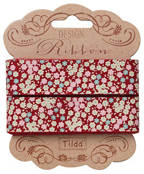 Tess Red Ribbon 20mm