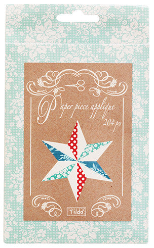 Circus Paper Piece Applique - Stars