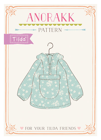 Anorak Pattern (For Your Tilda Friends)