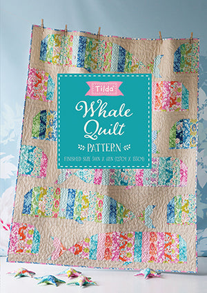 Sunkiss Whale Quilt Pattern