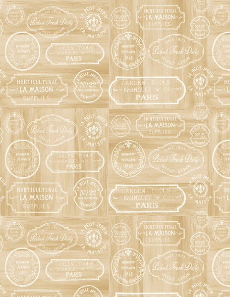 Le Cafe French Vintage Labels