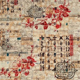 Vintage Correspondence, Eclectic Elements, Tim Holtz, Free Spirit, Fabric
