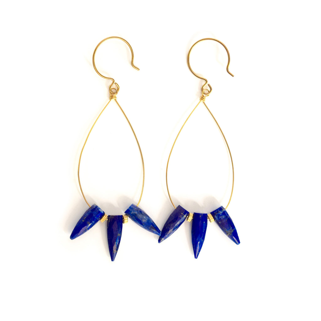 tricia lapis hoops
