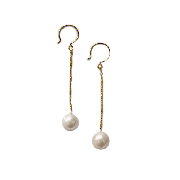 cynthia pearl earrings