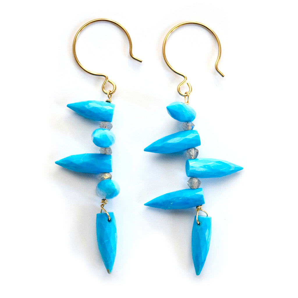 adriene turquoise earrings