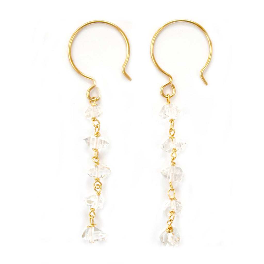 lizzie herkimer diamond dangles
