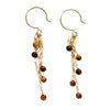 mariah tiger eye dangles