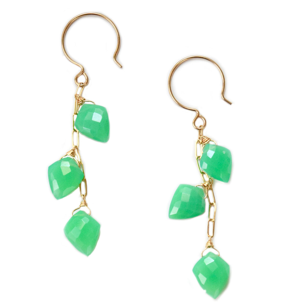toni chalcedony earrings