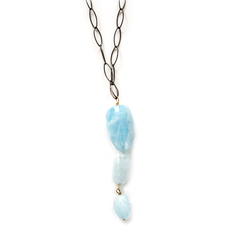 hope aquamarine necklace