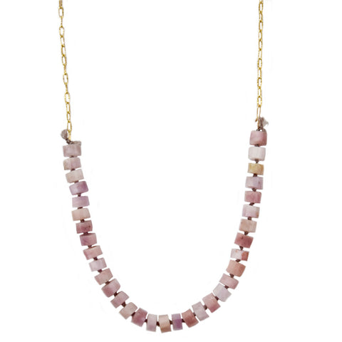 jilly kunzite necklace
