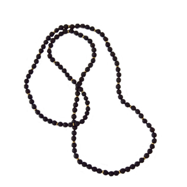 lava stone necklace