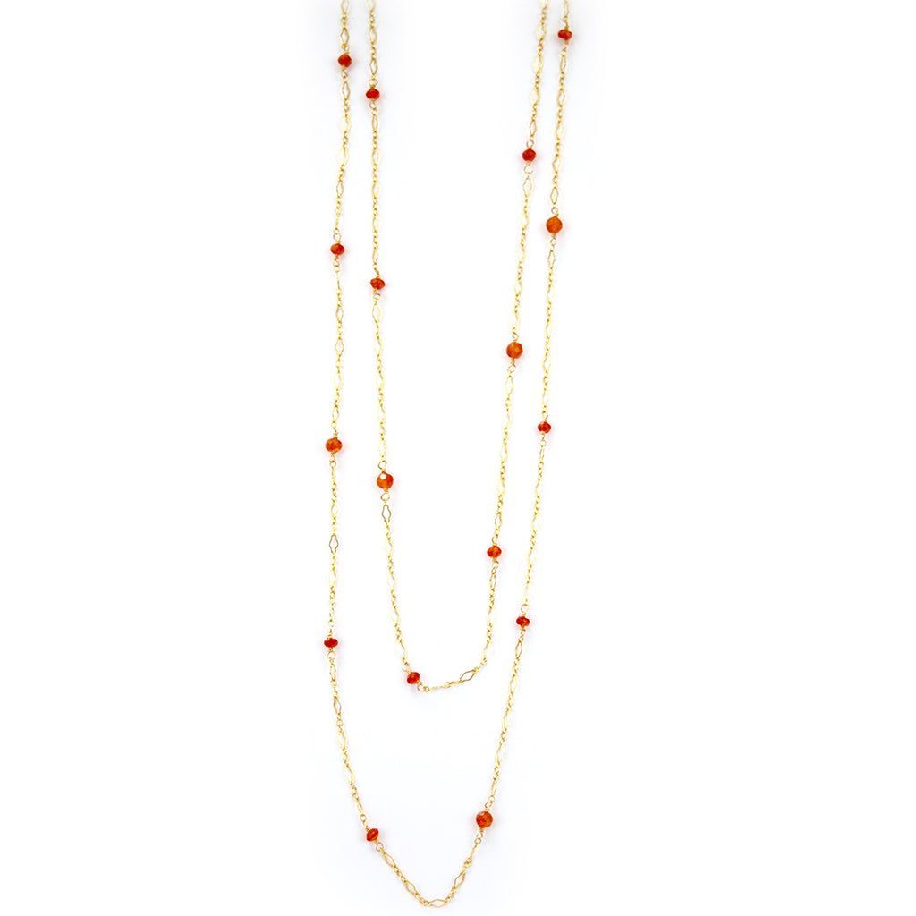 paloma carnelian necklace